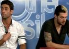 """""""Angela eliminou um por um"""", diz Cássio; brothers detonam sister em chat - Reprodução/ GShow"""