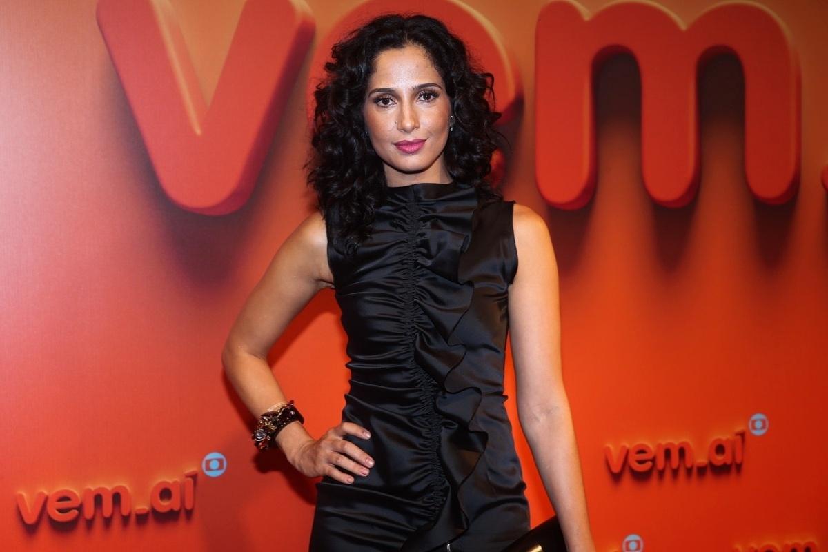 2.abr.2014 - Camila Pitanga prestigiou a