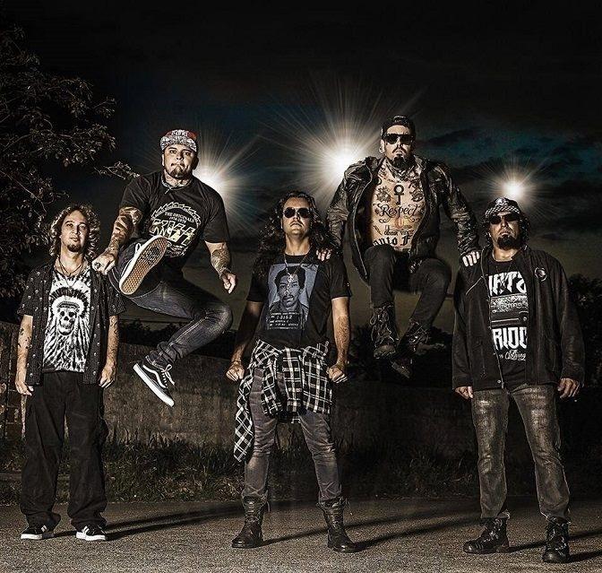 A banda de rock Detonautas