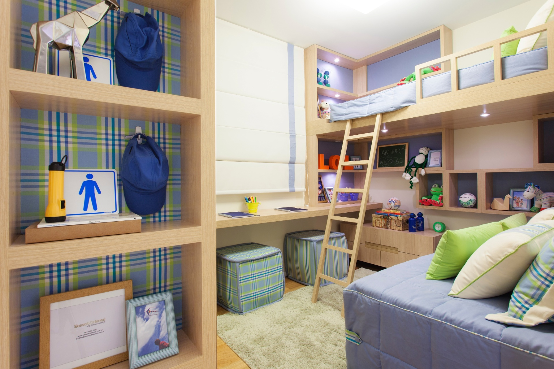 #8D733E Confira sugestões para decorar o quarto de bebês e crianças BOL  474 Janelas Duplas Madeira