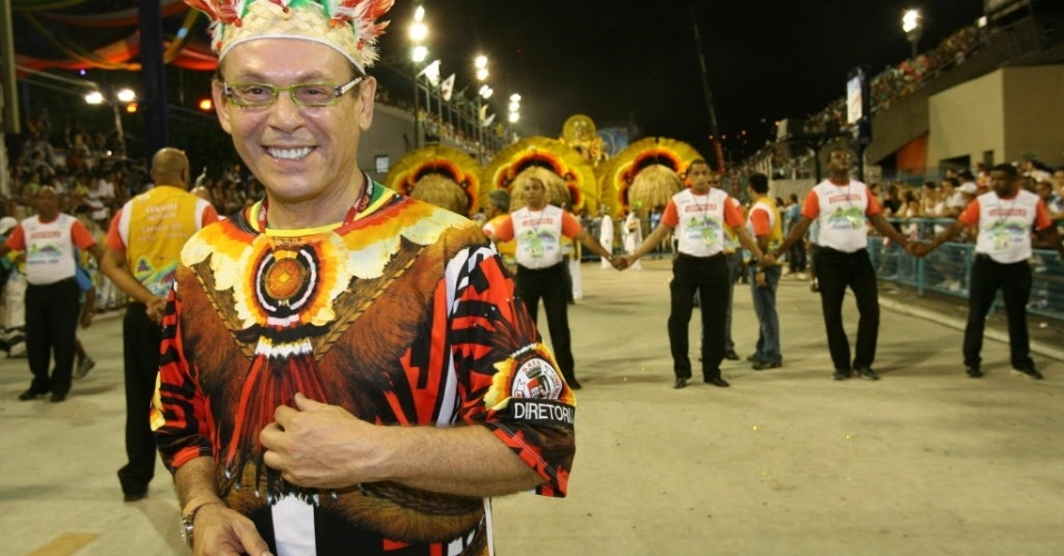2006 - Zé Wilker desfila na escola Grande Rio