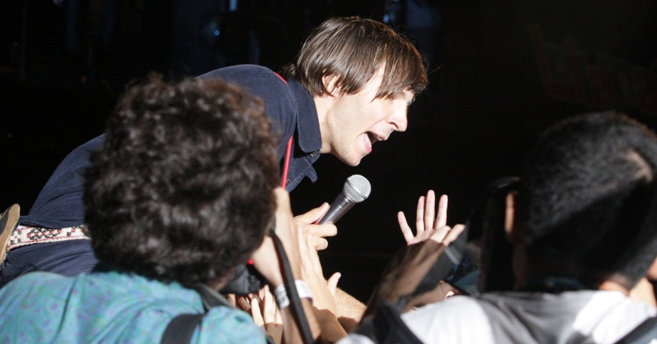 5.abr.2014 - Phoenix se apresenta no Lollapalooza 2014 no Autódromo de Interlagos, em São Paulo