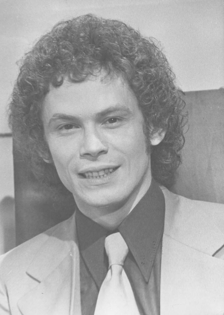 O ator José Wilker durante novela