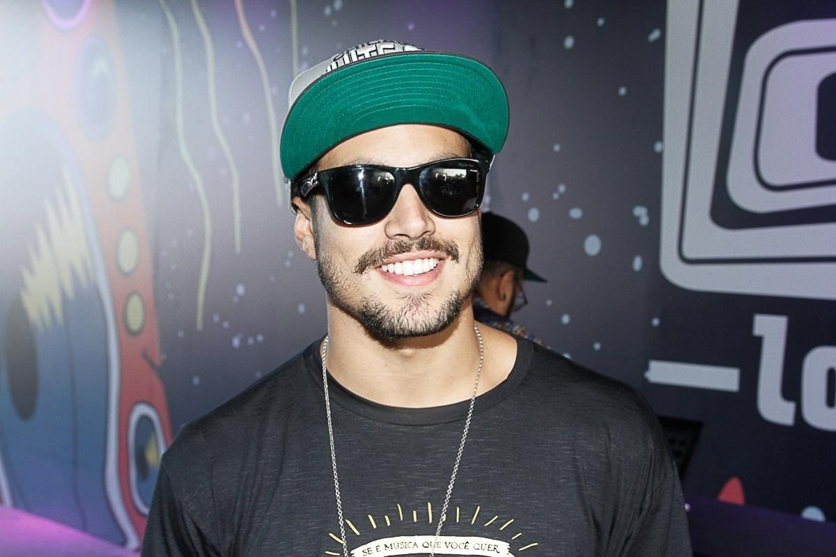 6.abr.2014 - Caio Castro no Lollapalooza 2014 no Autódromo de Interlagos, em São Paulo