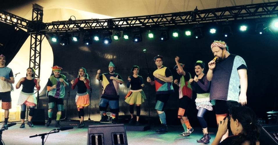 Barbatuques se apresenta no KidzPalooza neste domingo (5)