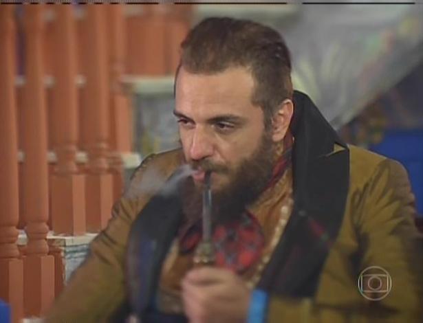 """Rodrigo Lombardi tem se destacado como Pedro Falcão de """"Meu Pedacinho de Chão"""""""