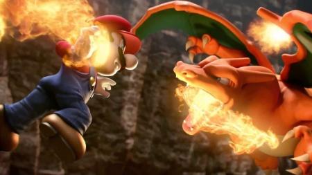 "Querido por jogadores de várias idades, Charizard marca presença nas lutas de ""Smash"""