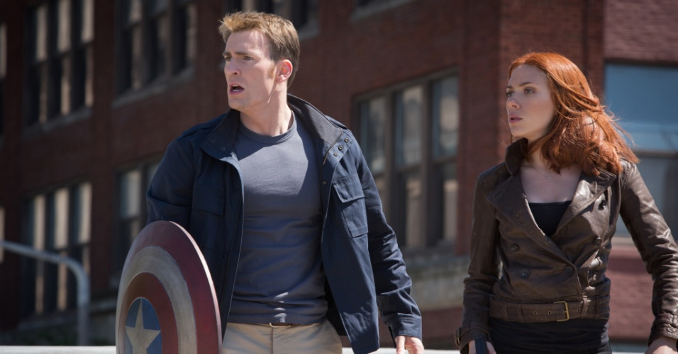 """Cena de """"Capitão América 2: O Soldado Invernal"""", de Anthony e Joe Russo"""