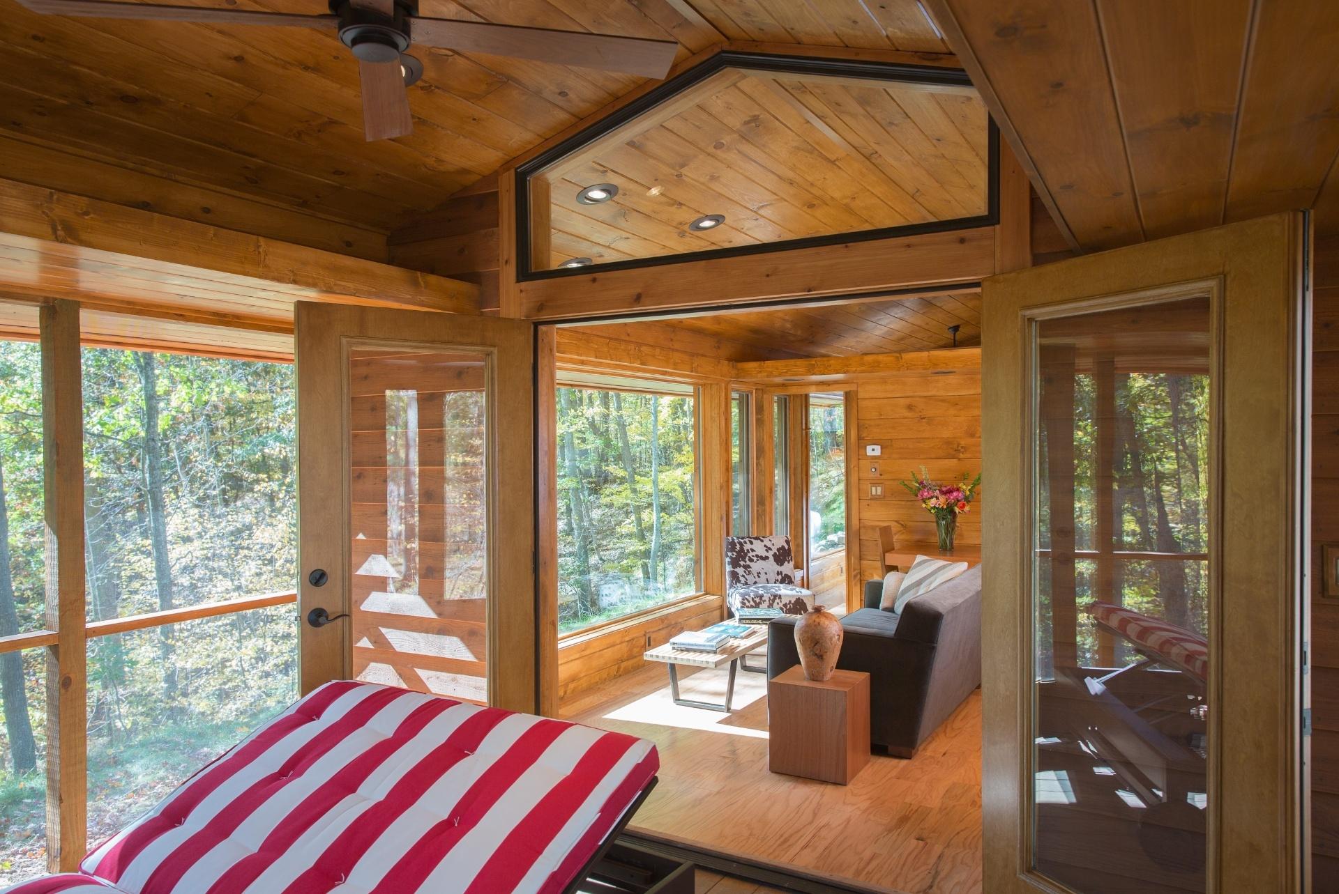#9D632E Salas de estar pequenas BOL Fotos BOL Fotos 474 Janelas Duplas Madeira
