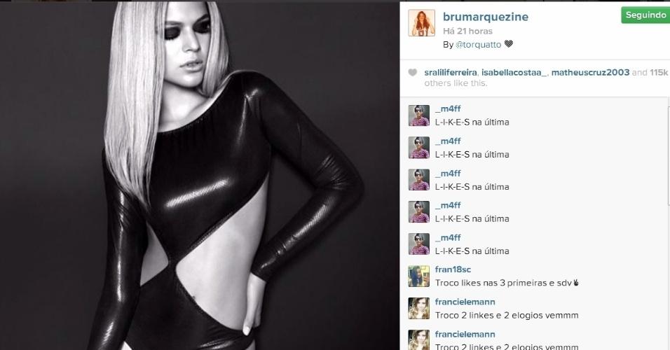 09.abr-2014- Bruna Marquezine posa sensual para as lentes de Fernando Torquatto