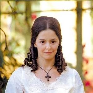 "Bianca Rinaldi na novela ""A Escrava Isaura"", da Rede Record"