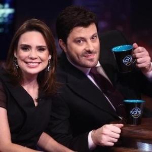"""Sheherazade em participação no programa """"The Noite"""", de Gentili"""