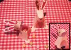 Fa�a coelho 3D com surpresa