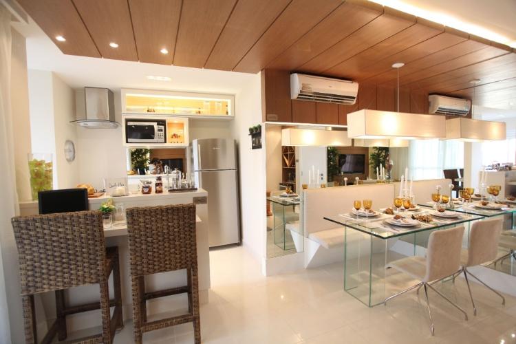 Sala De Jantar Na Sacada ~ desafio de criar um espaço para as refeições de quatro pessoas
