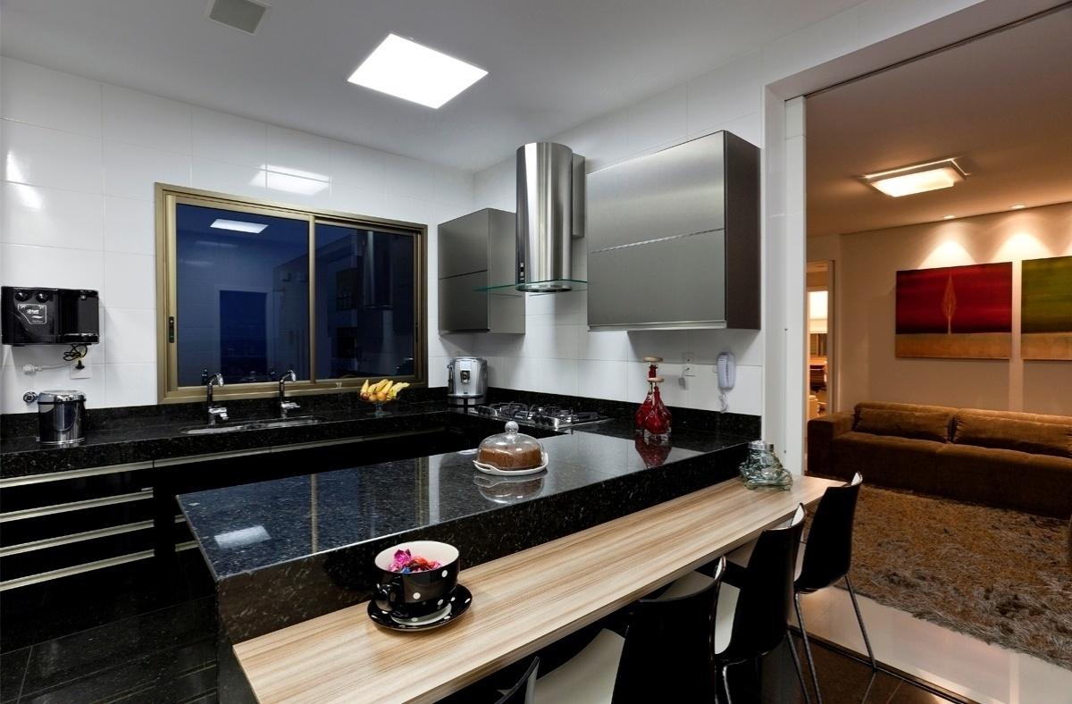 projeto em que a cozinha a sala de jantar e o living são integrados #926139 1200 788