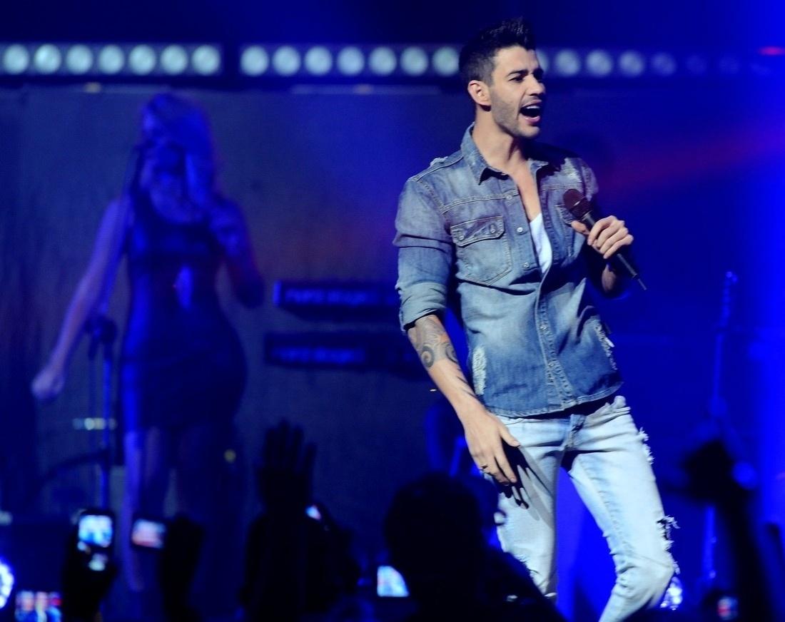 17.abr.2014 - Gusttavo Lima lança sua nova turnê