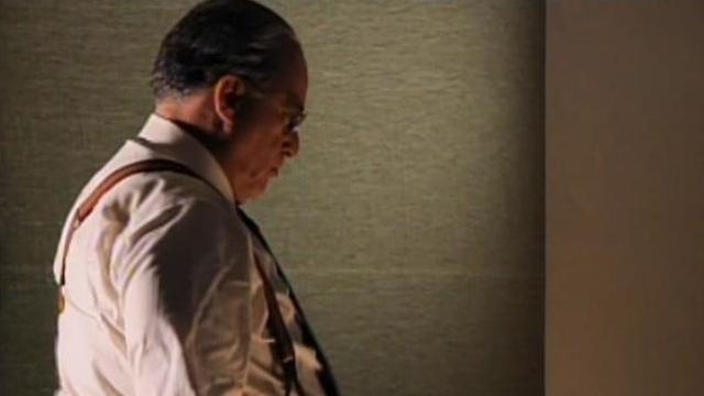 Já caracterizado, Tony Ramos vive Getúlio Vargas no filme