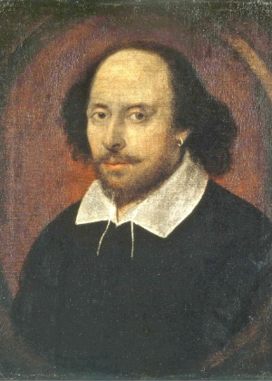 O dramaturgo Willian Shakespeare (1564-1616)