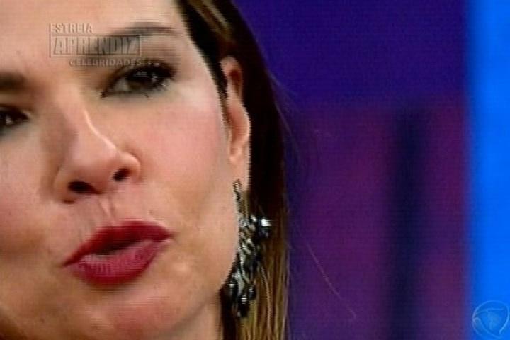 22.abr.2014 - Amiga de Nahim, Luciana Gimenez deu um depoimento falando do cantor