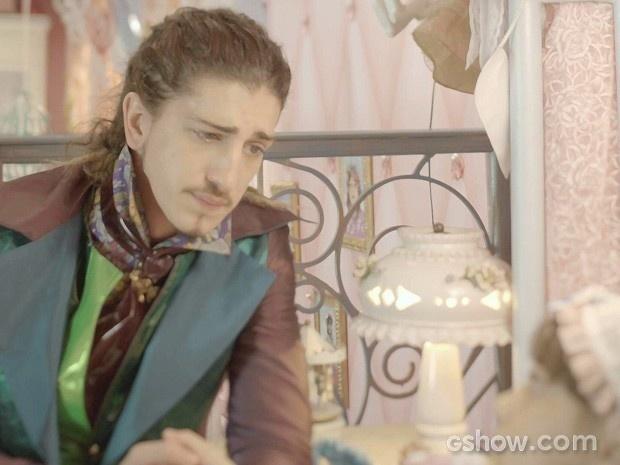 Ferdinando dá a má notícia para a irmã