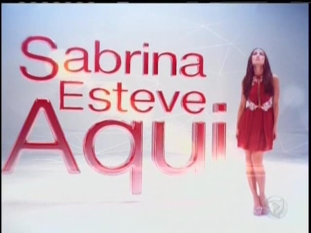 26.abril.2014 - Sabrina Sato estreia o quadro