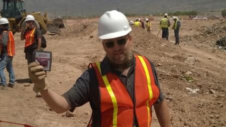 Equipe de escavação encontrou cartuchos enterrados na década de 1980