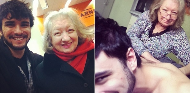Inseparáveis: Fernando Aguzzoli e sua avó Nilva