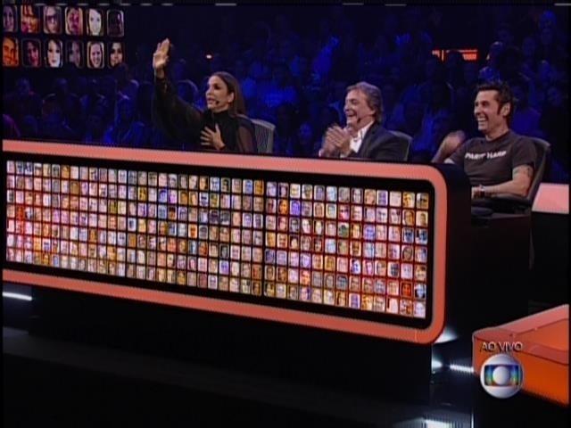 27.abril.2014 - Ivete Sangalo, Fábio Jr. e Dinho Ouro Preto, os jurados do