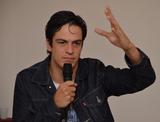 O ator Mateus Solano participa do Cine PE