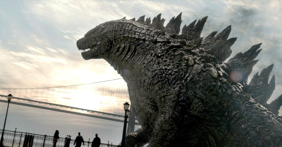 "Cena de ""Godzilla"", do diretor Gareth Edwards"