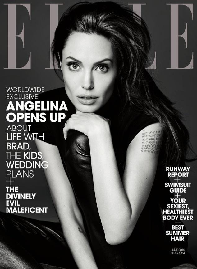 7.mai.2014 - Angelina Jolie é capa de edição de junho da revista