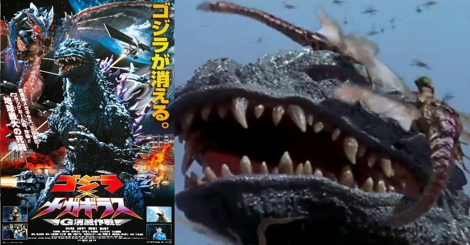 60 anos de Godzilla  relembre os filmes do Rei dos MonstrosGodzilla 2000 Vs Megaguirus