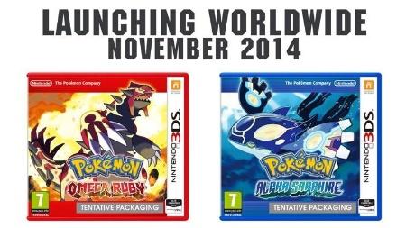 """""""Omega Ruby"""" e """"Alpha Sapphire"""" atualizam para o 3DS jogos clássicos do GBA"""