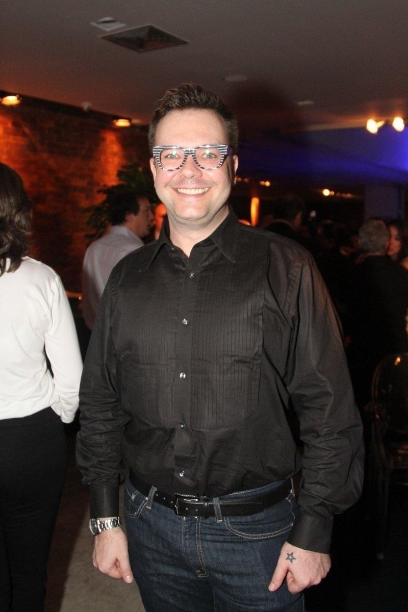 8.mai.2014 - Pablo prestigiou a festa de 20 anos da Discovery Networks, em São Paulo