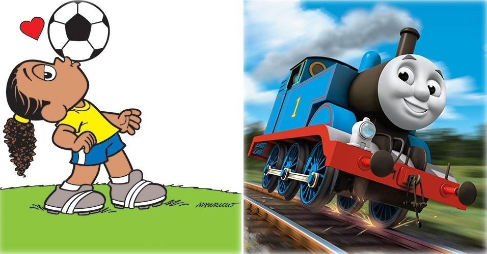 de quot A Turma do Ronaldinho Ga cho quot e quot Thomas e seus amigos