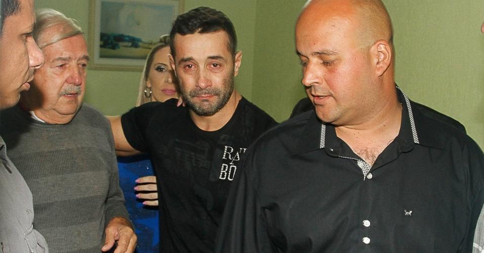 Marcos Oliver deixa a prisão