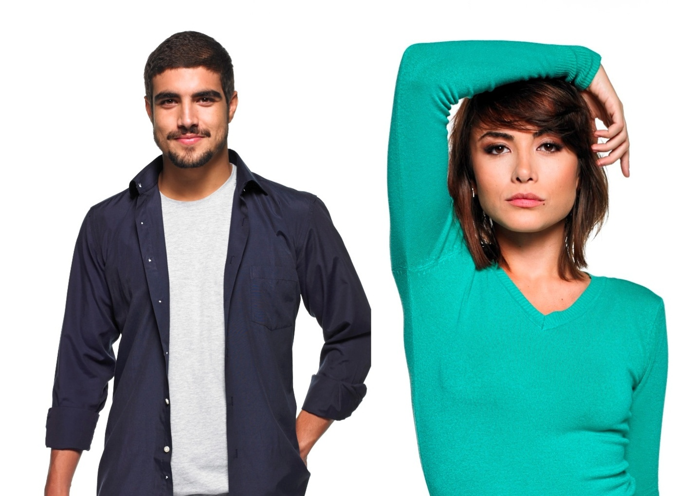 Caio Castro e Maria Casadevall participam de campanha de Dia dos Namorados