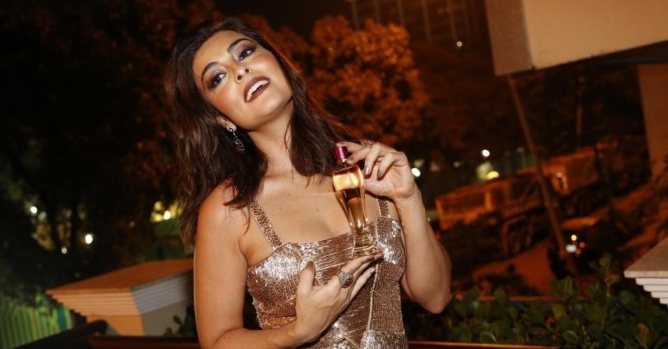Juliana Paes é uma das celebridades que mais faturam com eventos de marcas pelo país