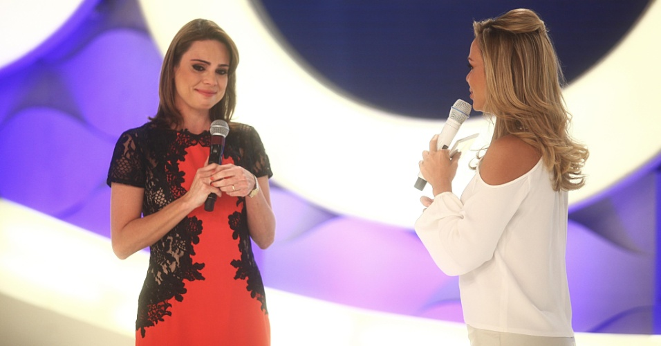 Rachel Sheherazade no programa