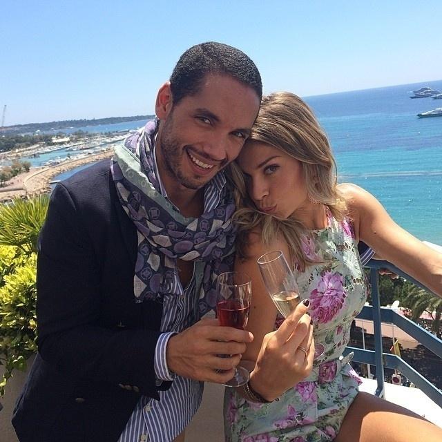 17.mai.2014 - Em Cannes, Grazi Massafera