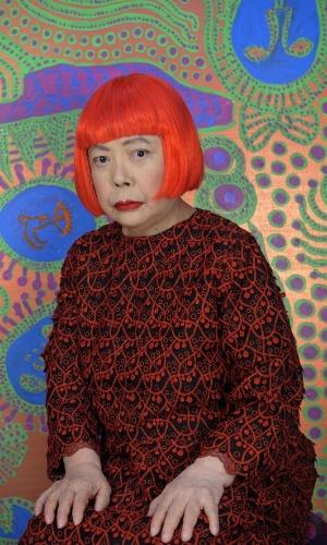 Retrato Yayoi Kusama (2013).