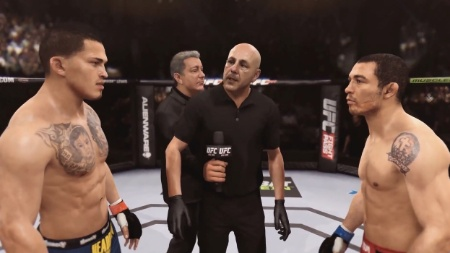 "Vídeo demonstra uma luta no aguardado ""EA Sports UFC"""