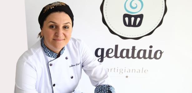 A chef Emilene Stival vai levar seus sorvetes italianos para a feira gastronômica no MON que abre o festival neste sábado (24).