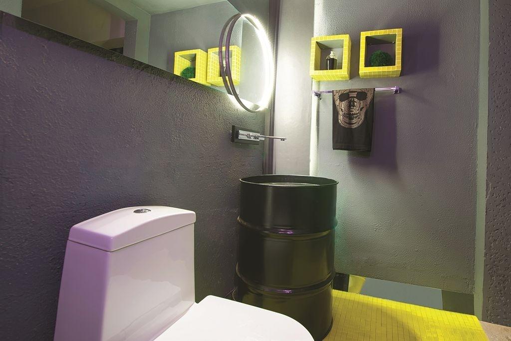 Banheiros pequenos dicas de decoração para quem tem pouco espaço  BOL Fotos -> Cuba Para Banheiro Amarela