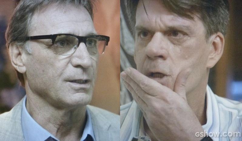 Ricardo dá um soco em Luciano após armação com Branca