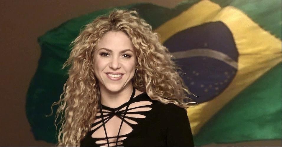 Shakira em cena do clipe