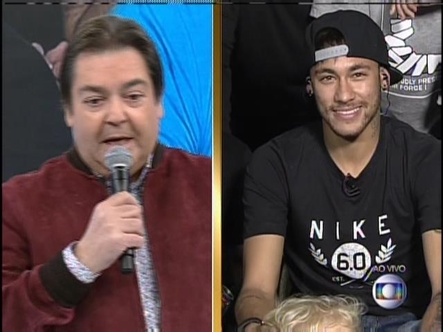 "Neymar participa do ""Domingão do Faustão"""