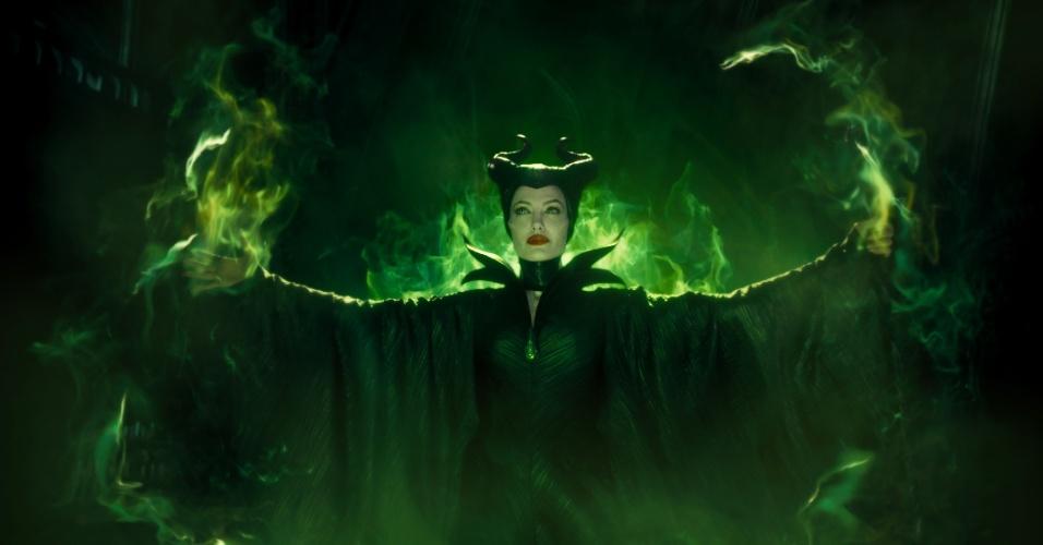 Angelina Jolie em cena de