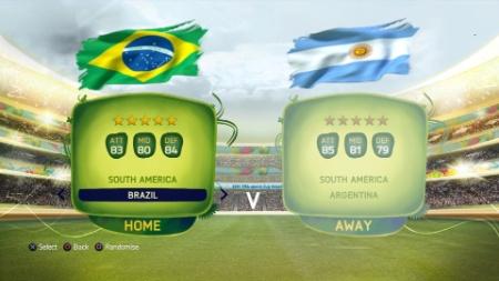 """Palco da grande final da Copa do Mundo chega ao """"FIFA 14"""" por meio de atualização"""