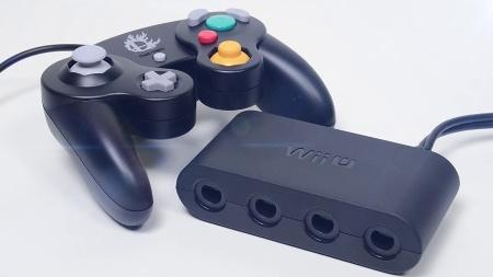 Adaptador servirá para conectar quatro controles de GameCube